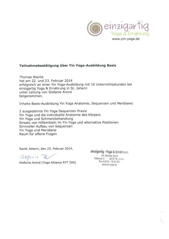 inRelax Shiatsu -Yin Yoga - Anatomie, Sequenzen und Meridiane
