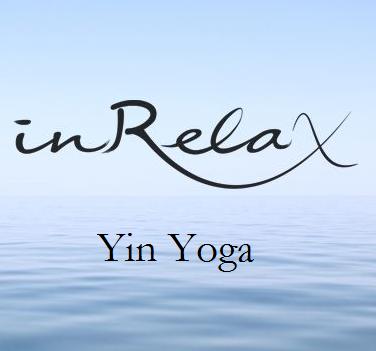 inRelax Logo mit Yin Yoga